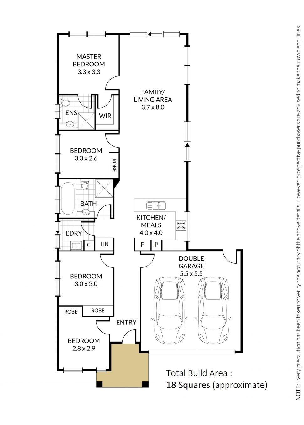 32281414 1623802917 16664 105 Isabella Way Tarneit Floor Plan